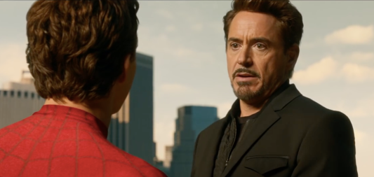 Tony Stark and Peter Parker