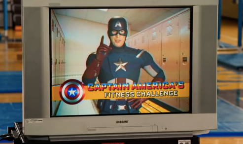 Captain America Fitness Video