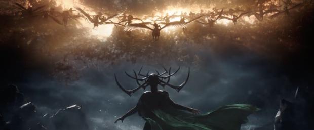 Hela in Thor Ragnarok
