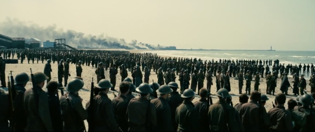 Cinematography in Dunkirk