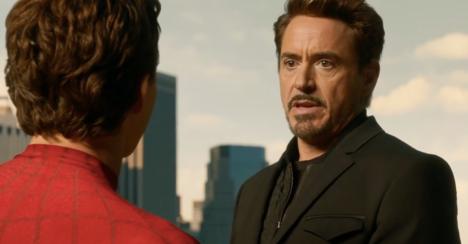 Dad Tony Stark