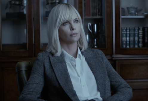 Charlize Theron Super Spy