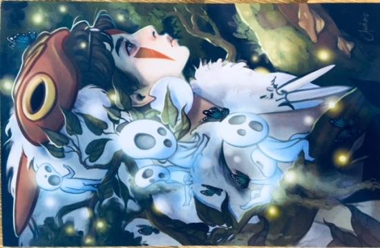 Princess Mononoke print