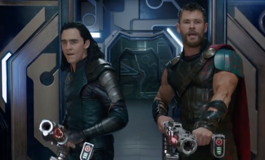 Thor and Loki for the win