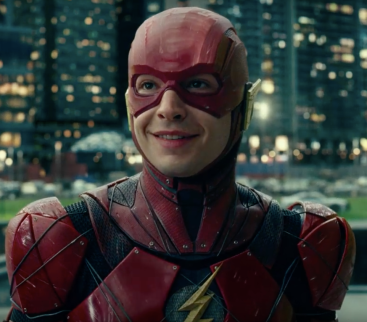 Ezra Miller as the Flash