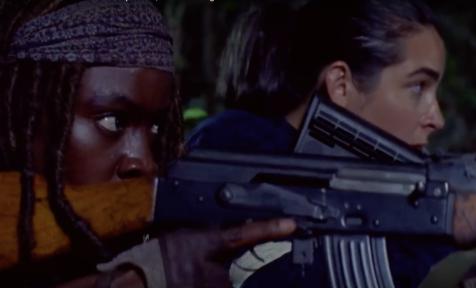 Michonne and Tara
