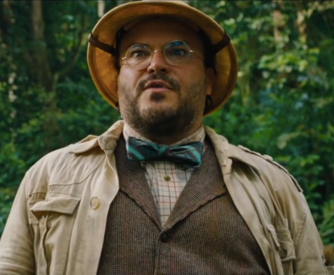 Jack Black in Jumanji