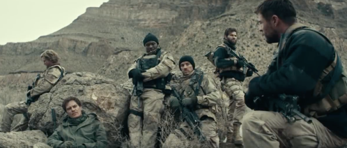 the soldiers of 12 Strong