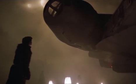 Han meets the Falcon
