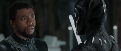 Black Panther meets the King