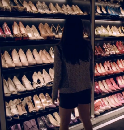 a whole lot of shoes