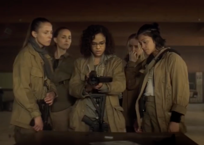 the all female team in annihilation