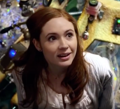 amelia pond meets the tardis