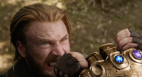 Steve Rogers meets Thanos