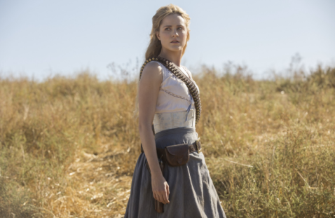 Dolores in Westworld