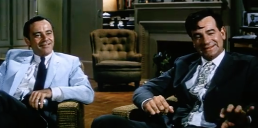 Lemmon and Matthau in The Odd Couple