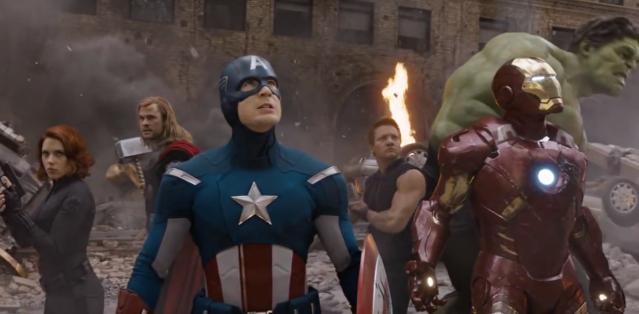 the avengers team up for friendsgiving