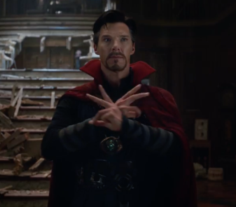 Stephen Strange in Infinity War
