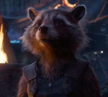 Rocket the Rabbit in Infinity War