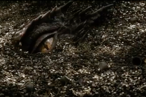 smaug and his gold