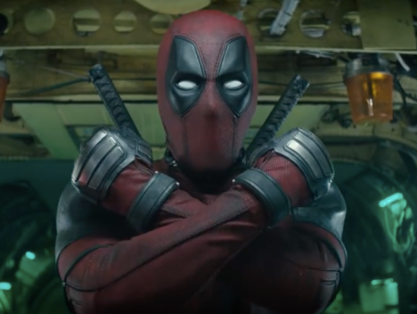 deadpool x force pose
