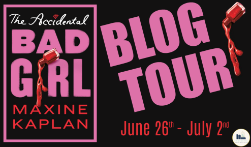 The Accidental Bad Girl Blog Tour Banner