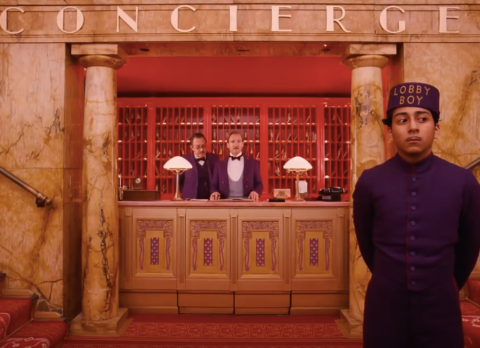 concierge at grand budapest