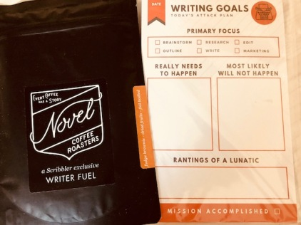 writers needs coffee and a notepad