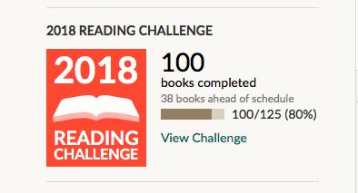 goodreads goal