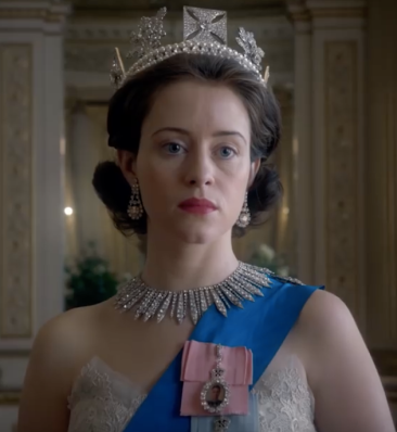 Claire Foy as Queen Elizabeth