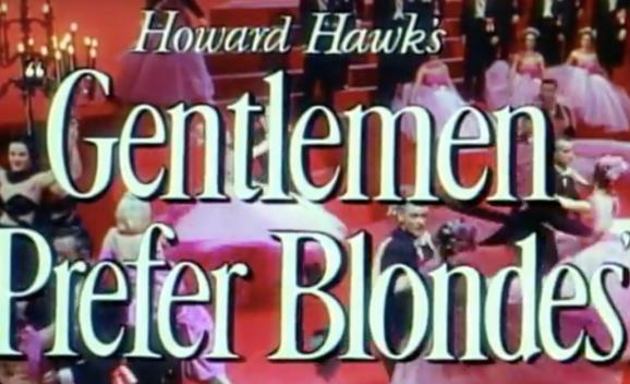 Gentleman Prefer Blondes
