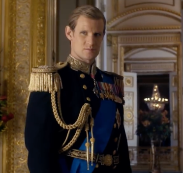 Matt Smith as Prince Phillip