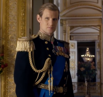 Matt Smith as Prince Phillip
