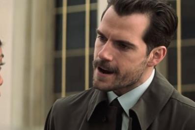 Henry Cavil as Agent Walker