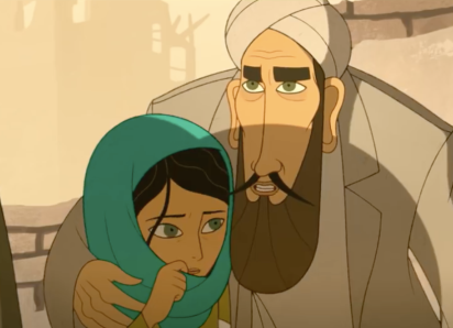 Parvana and her father