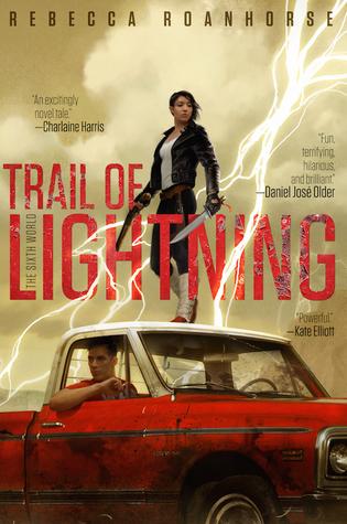 trail of lighning
