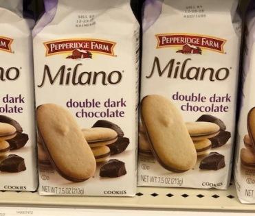 double dark chocolate milano