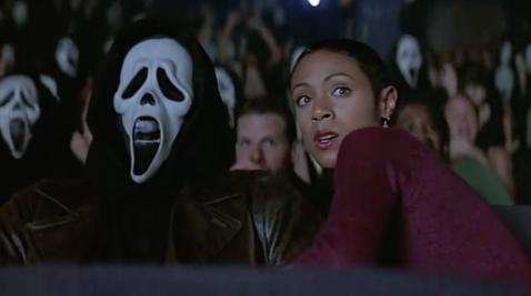 scream movie theater killings