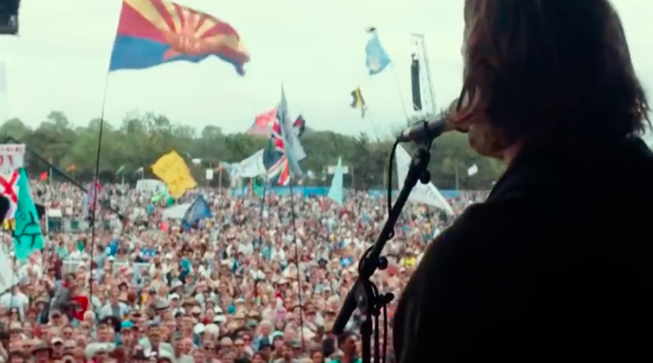 cooper performing in a star is born