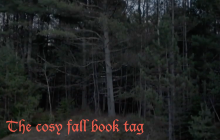 the cosy fall book tag