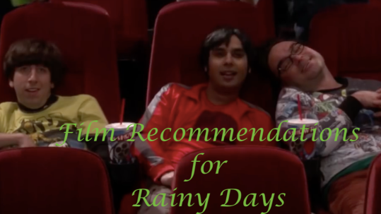 film recommendations for rainy days