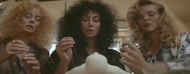 Susan Sarandon, Michelle Pheiffer and Cher