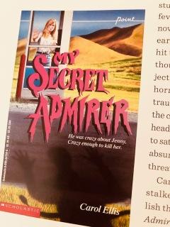 my secret admirer by Carol Ellis