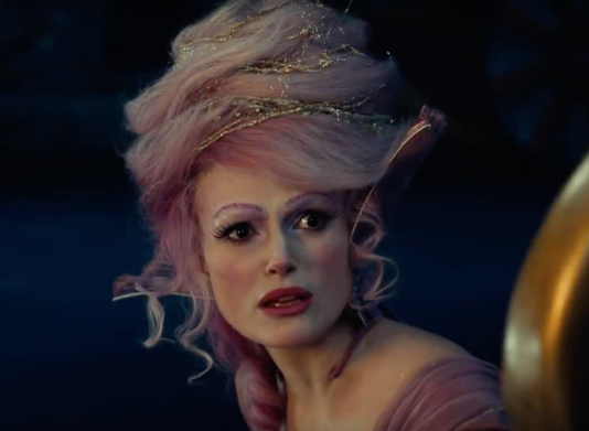 keira knightley as sugar plum fairy