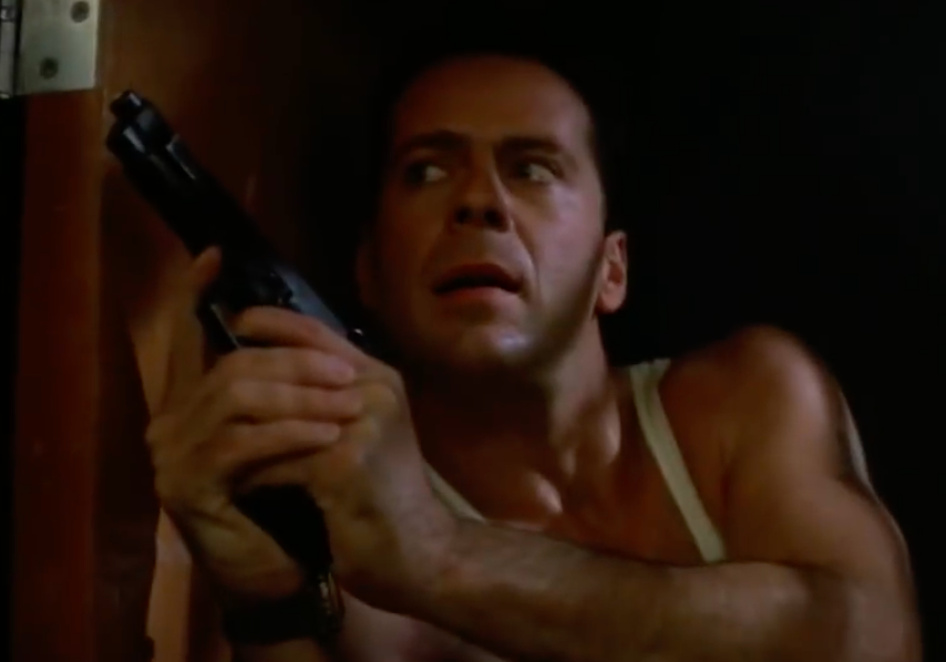 Bruce Willis as John McClain