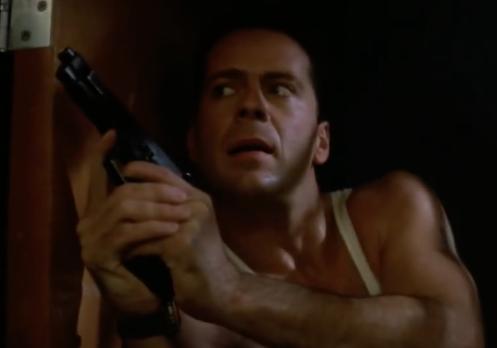 Bruce Willis as John McClain