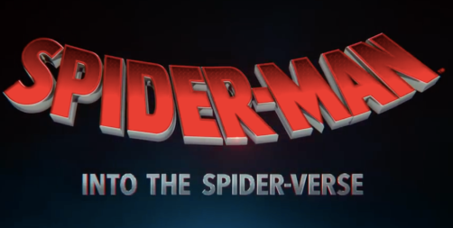 Into the Spider-Verse title card