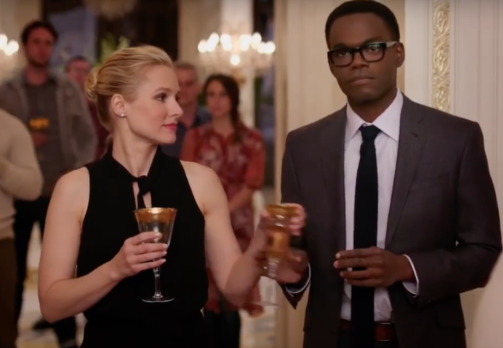 eleanor and chidi in the good place