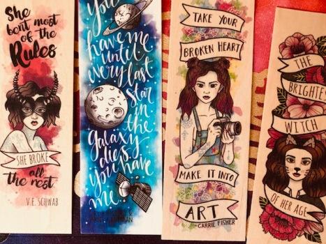 ink and wonder woodmarks