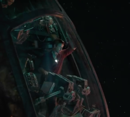 tony stark is lost in space